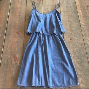 Old Navy Chambray Popover Dress Size XS